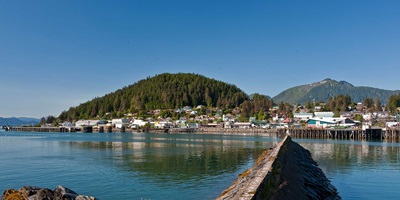 Wrangell waterfront