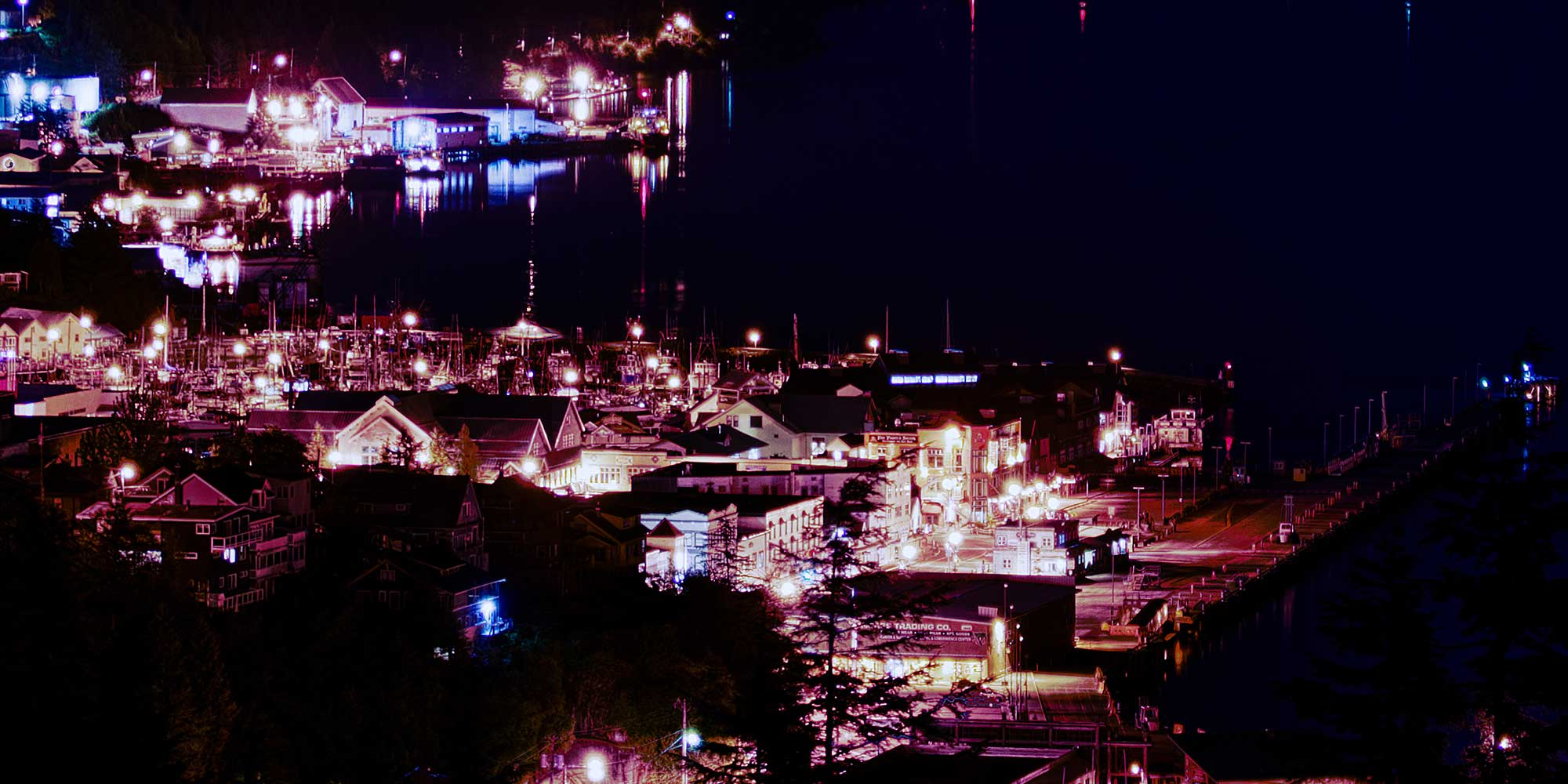 ketchikan at night