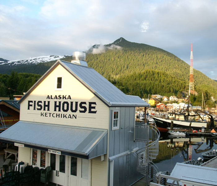 The Fish House Building
