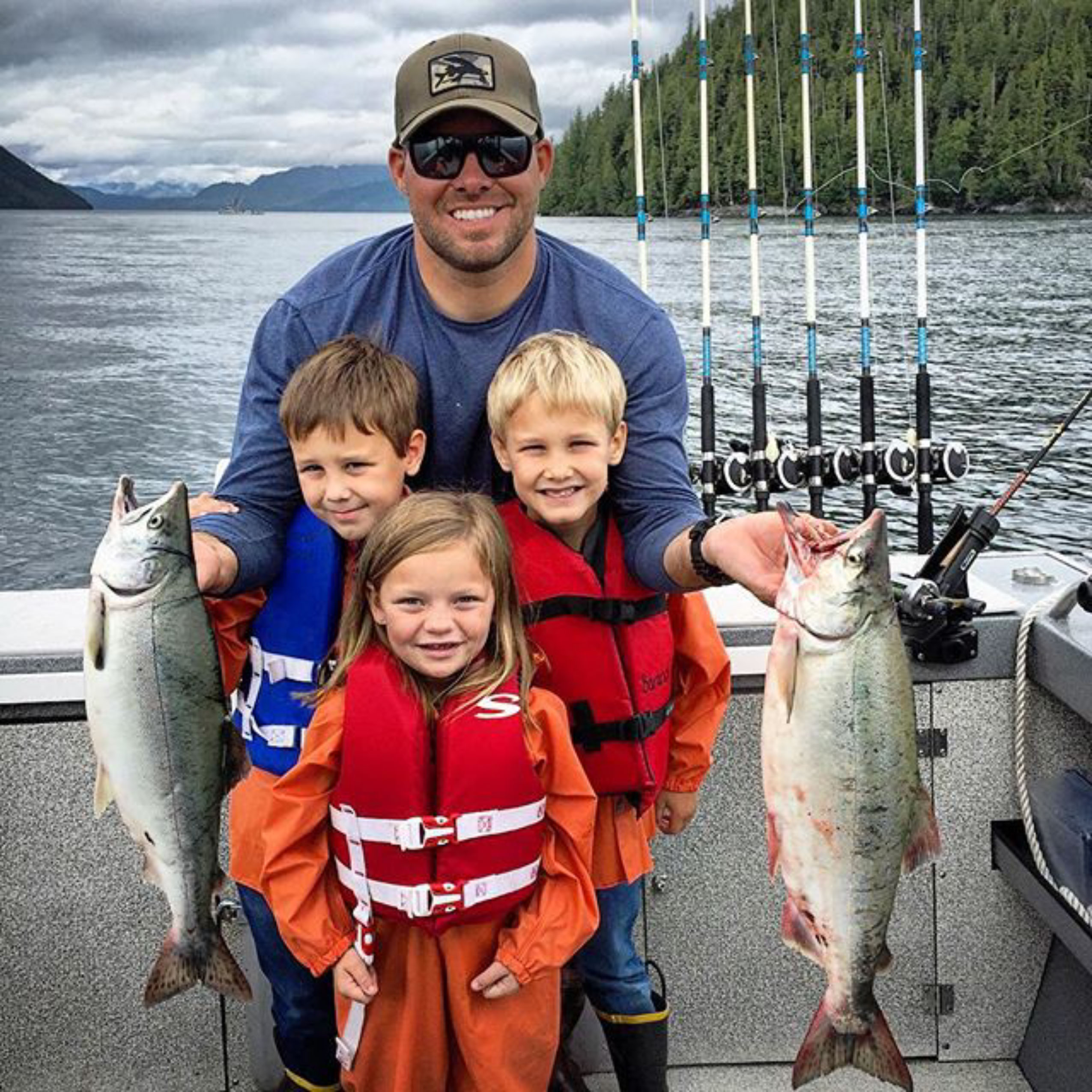 Baranof Guide with Kids