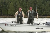 Remote self-guided salmon fishing!