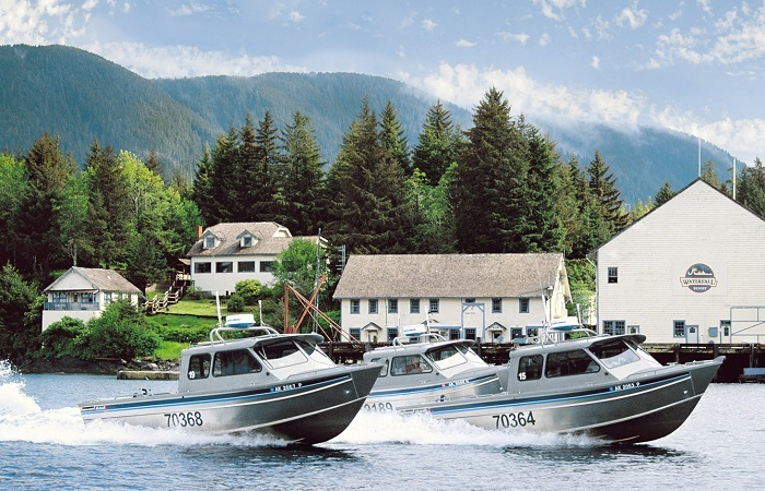 Get out on the water with the largest private fleet in Alaska!