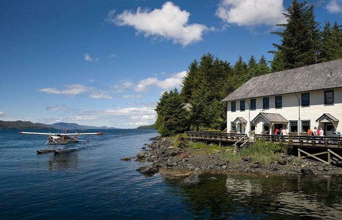 Enjoy a scenic round-trip sea plane tour from Ketchikan to Waterfall Resort!