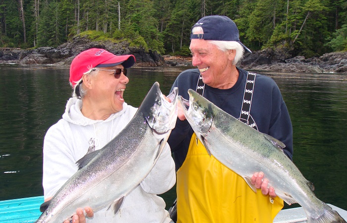 Flash some silver during peak Coho salmon season in August!