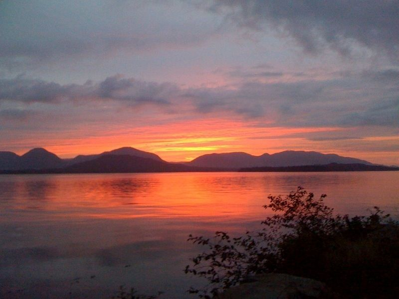 So Tongass Sunset