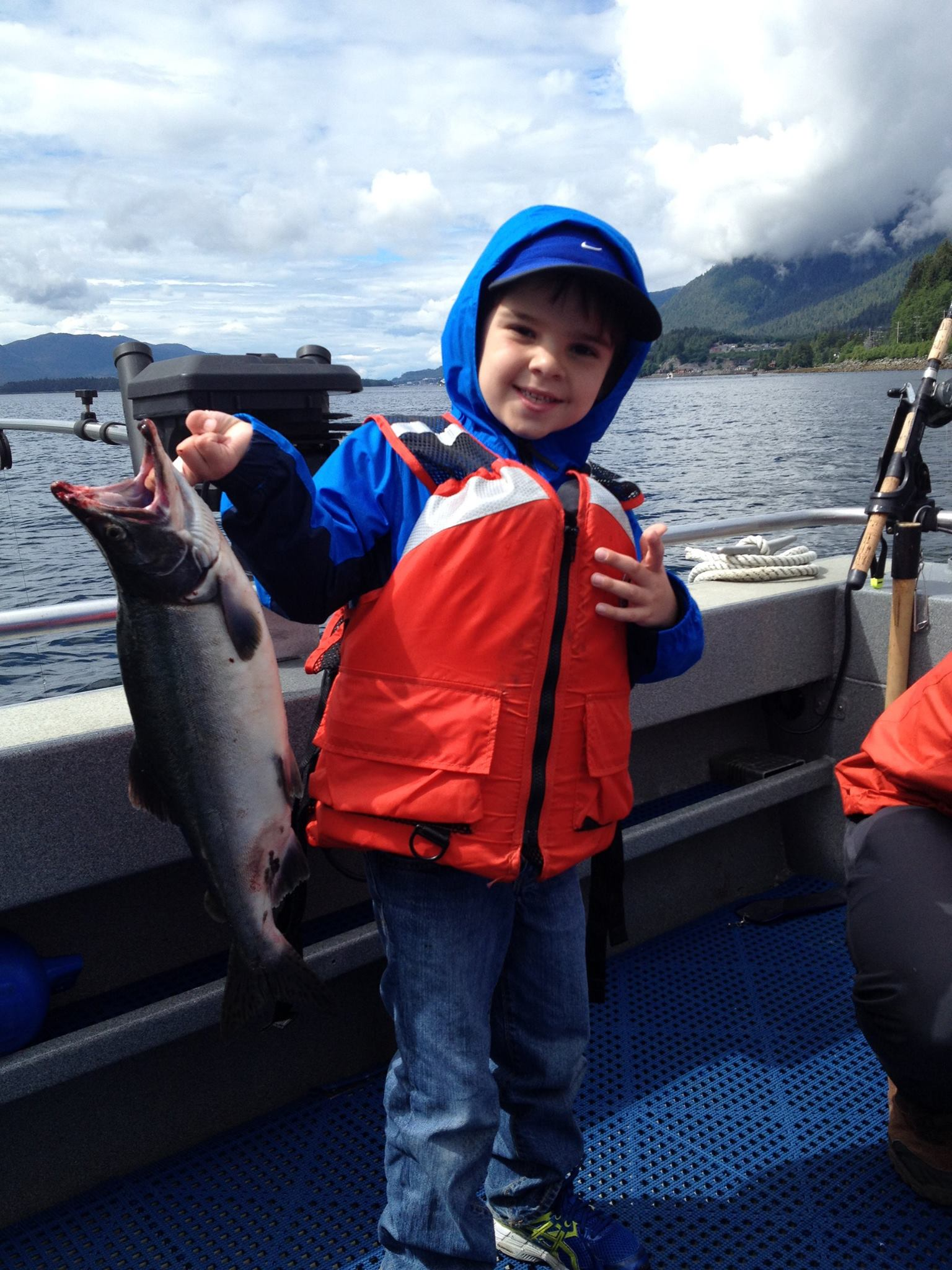 Kids are welcome on any charter