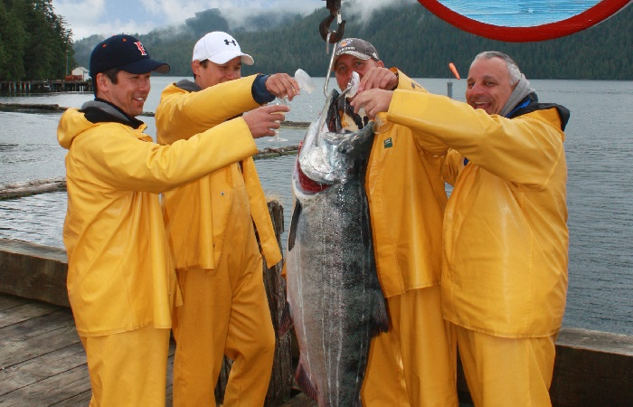 Catch wild Alaska salmon, halibut, ling cod and more than 20 other varieties of sport fish!