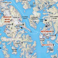 Ketchikan Alaska Map | States Maps on