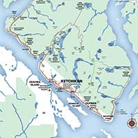 ketchikan region map
